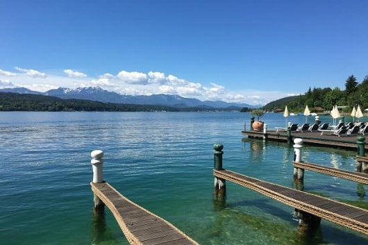Озеро WОRTHERSEE, Hotel Schloss Seefels Portschach